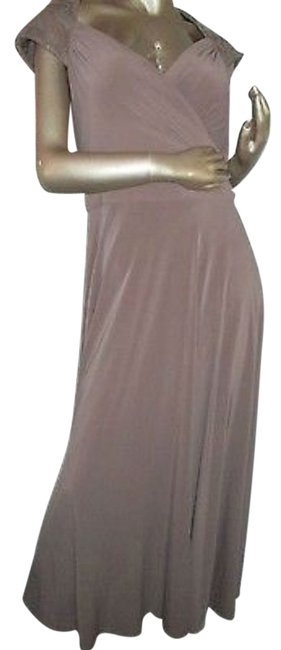Patra Brown Gown Long Formal Dress Size 16 (XL, Plus 0x) Patra Brown Gown Long Formal Dress Size 16 (XL, Plus 0x) Image 1