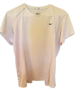 Nike Nike Fit Dry white short sleeve multi-sport athletic top - 100% Polyester
