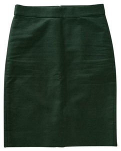 J.Crew Skirt Academic Green