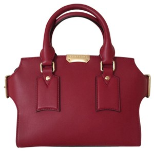 Burberry Satchel in Parade Red