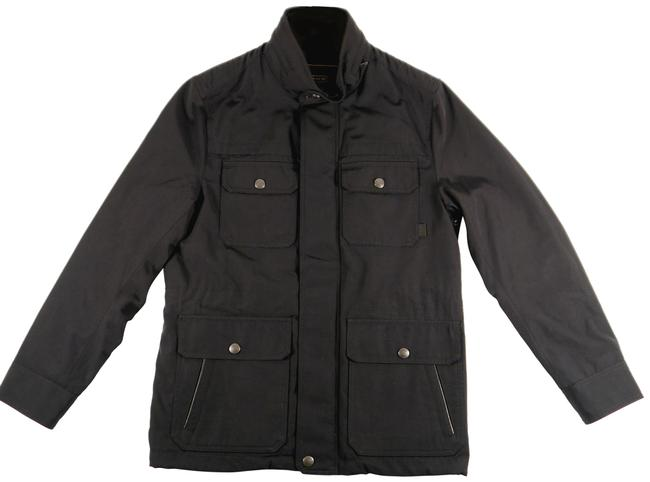 Item - Black Mens Nylon Field Small : Msrp Jacket Size OS (one size)