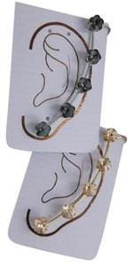 Set of 2 Ear Bling Cuff w Stud with Free Shipping