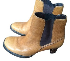 Cole Haan Tan Ankle Boots