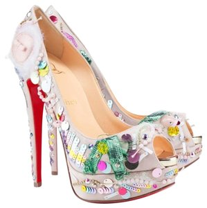Christian Louboutin Multi Color Platforms