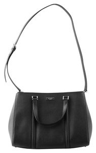 Kate Spade Saffiano Satchel in black