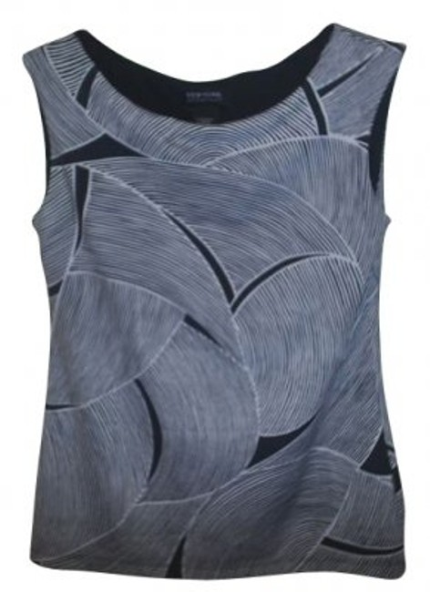 Preload https://item1.tradesy.com/images/new-york-and-company-black-white-boat-neck-graphic-pullover-tunic-size-8-m-16090-0-0.jpg?width=400&height=650
