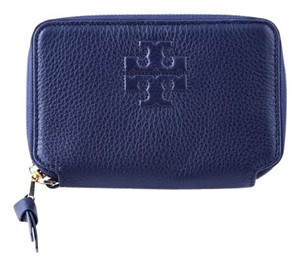Tory Burch Tory Burch Logo Zip Continental Wallet