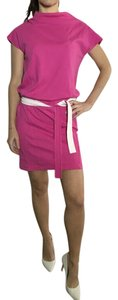 Escada short dress Hot pink 100% on Tradesy