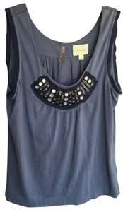 Deletta Embellished Top periwinkle blue