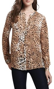 Joie Leopaerd Animal Print Top
