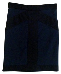 BCBGeneration Stretchy Bandage Skirt Blue