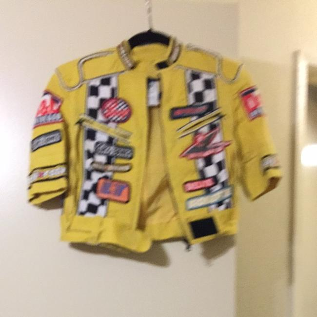 Dolce&Gabbana Yellow With Patches Jacket