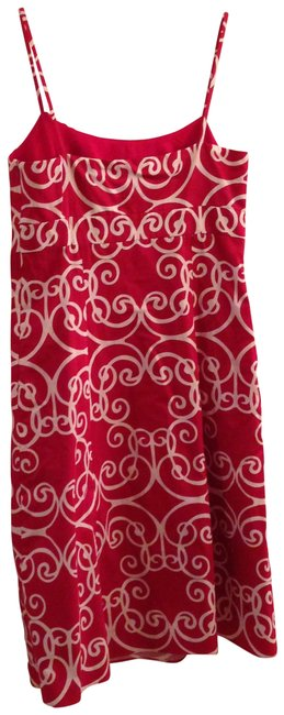Ann Taylor short dress red on Tradesy