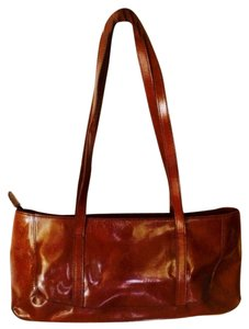 Maxx New York Satchel in British Tan Patent