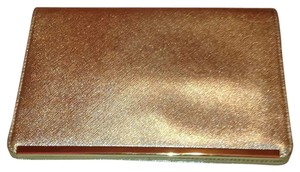 Halogen Gold Clutch