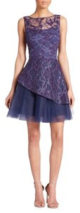 NHA KHANH Piper Layered Lace & Tulle Dress