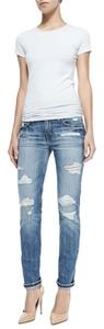 JOE'S Jeans Denim Destroyed Boyfriend Cut Jeans-Distressed