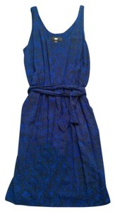 Mossimo Supply Co. short dress Blue and black on Tradesy
