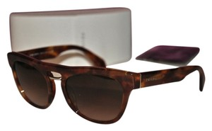 Prada Prada Sunglasses SPR 10P in Havana Brown