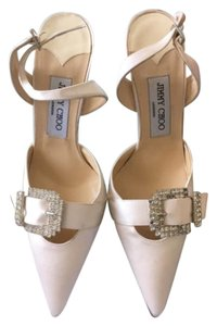 Jimmy Choo White/Beige Formal