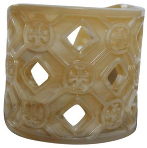 Tory Burch Tory Burch BRAND NEW WITH TAGS TORY BURCH PERFORATED RESIN LOGO CUFF BRACELET