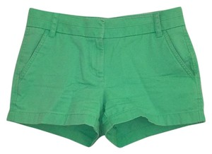 J.Crew Mini/Short Shorts Kelly Green