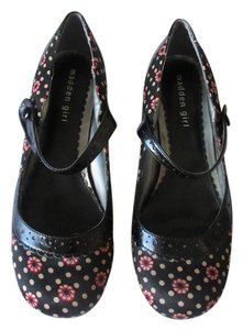 Madden Girl Comfortable Geniune Black - Multicolored Pumps