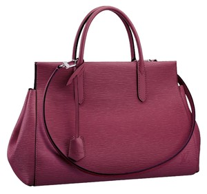Louis Vuitton Lv Epi Marly Mm Satchel in Fuschia