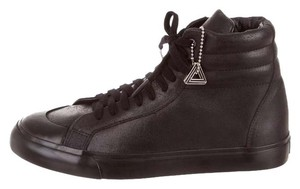SISSI Japanese Leather Street Style Sneakers black Athletic