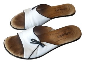 Softspots White Mules