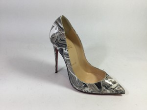Christian Louboutin Pigalle Follies 120 Marble Pumps