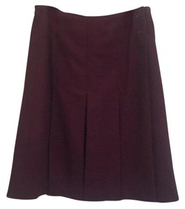 Brooks Brothers Skirt Burgundy, maroon, oxblood