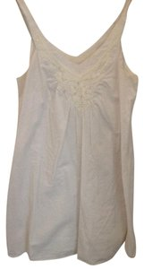 Ann Taylor LOFT short dress White Crochet on Tradesy