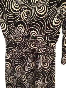 Laundry by Shelli Segal short dress black and white print on Tradesy