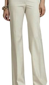 Talbots Wide Leg Pants ivory/cream