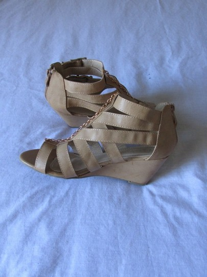 Other Comfortable Casual Nice Soft Beige Wedges