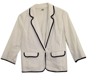 BP. Clothing White Blazer