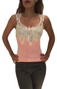 Banana Republic Top Pink and White