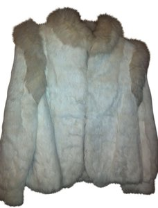 Other Rabbit Fur Luxe Glamour Fur Coat