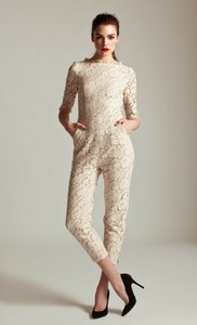 ALICE By Temperley Lace Jumpsuit Wedding Dress