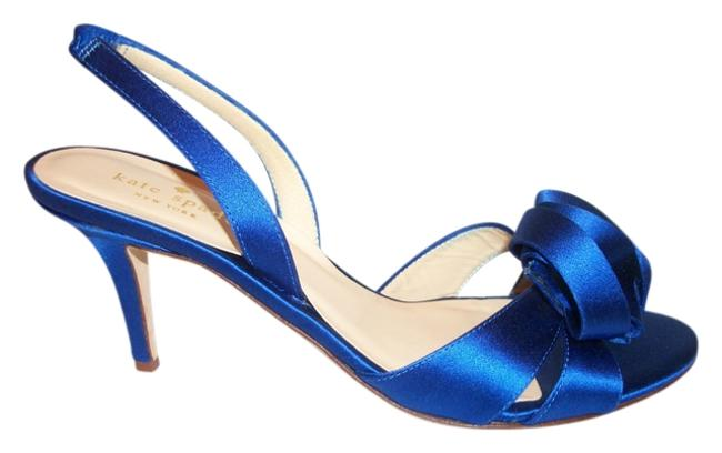 Item - Royal Blue Bow Formal Shoes Size US 8.5