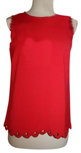 J.Crew Top Electric Red