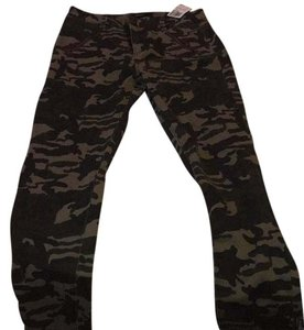 Forever 21 Straight Pants Camo