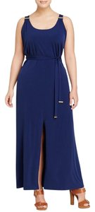 Prussian Blue Maxi Dress by Michael Kors Maxi
