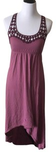 Purple Maxi Dress by Mudd