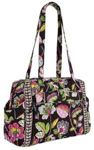 Vera Bradley Make A Nwt Changie Moon Blooms black floral Diaper Bag