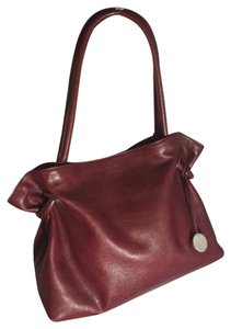 Furla Tote in Oxblood