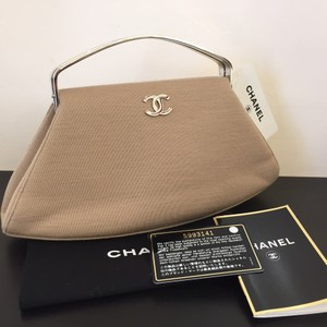 Chanel tan beige Clutch