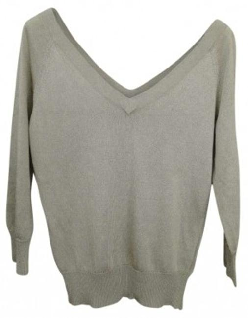Preload https://img-static.tradesy.com/item/160962/banana-republic-gold-double-sweaterpullover-size-4-s-0-0-650-650.jpg