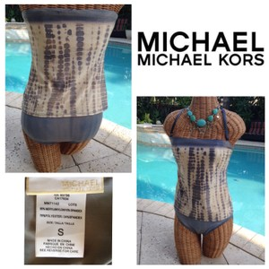 Michael Kors Michael Kors 2 pcs Bandeau Tankini Top & Bottom Suit Small